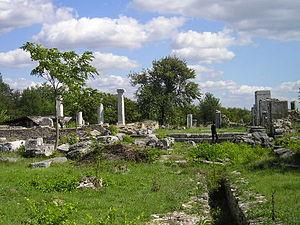 Nicopolis ad Istrum - Image: Nicopolis ad Istrum central part
