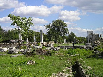 Battle of Nicopolis ad Istrum - Roman ruins at Nicopolis ad Istrum