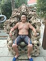 Nine Sea-Dragons Chair plus a head of Jason.jpg