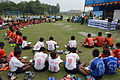 Nisith Ranjan Chowdhury Explains Medical Aspects of Football - Football Workshop - Nisana Foundation - Sagar Sangha Stadium - Baruipur - South 24 Parganas 2016-02-14 1297.JPG