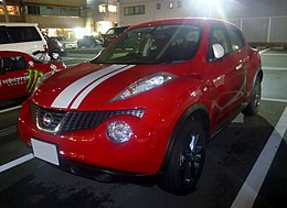 Nissan JUKE 15RX Personalize Package (F15) at night front.JPG