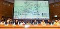 Nitin Gadkari presiding over the signing ceremony of MoU between MoWR and Chief Ministers of six states viz Uttar Pradesh, Delhi, Uttarakhand, Rajasthan, Himachal Pradesh and Haryana regarding the Lakhwar Dam Project (2).JPG