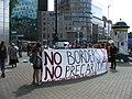 No borders, no precarity - Shut Down FRONTEX Warsaw 2008.jpg