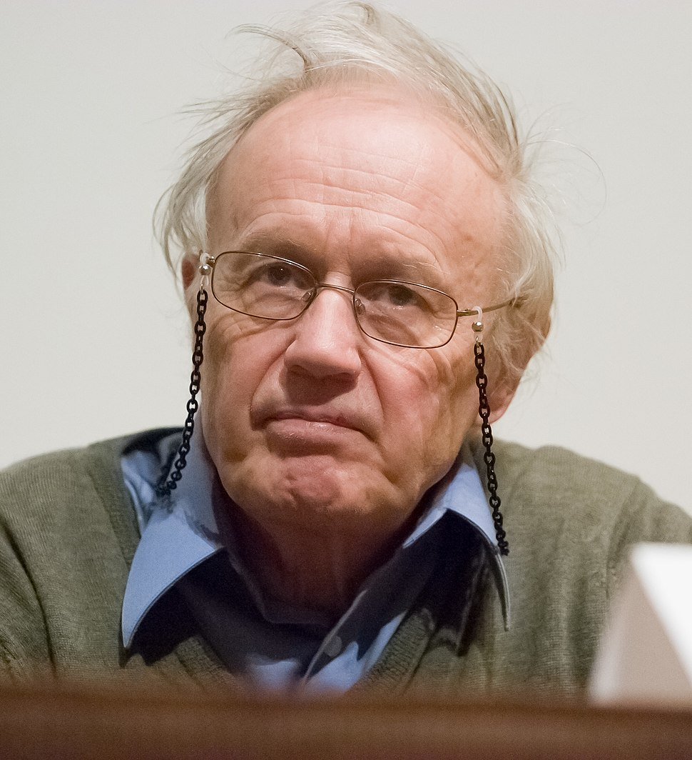 Nobel Laureate Sir Anthony James Leggett in 2007