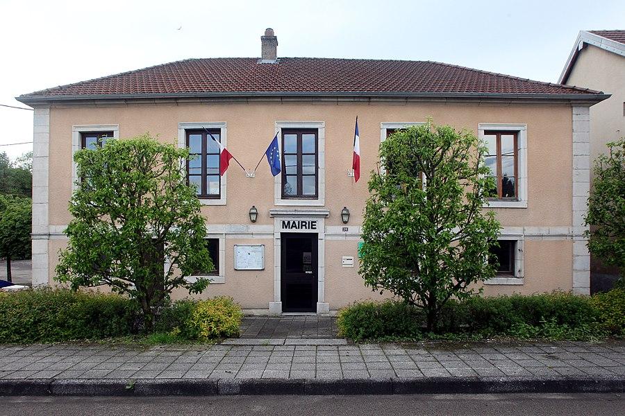 Mairie de Nods (Doubs).