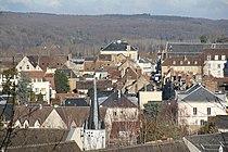 Nogent-le-Rotrou - City center seen from Château Saint-Jean.JPG
