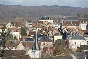 Nogent-le-Rotrou - City center seen from Château Saint-Jean.JPG