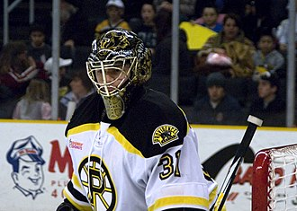Nolan Schaefer - Schaefer with the Providence Bruins in 2011
