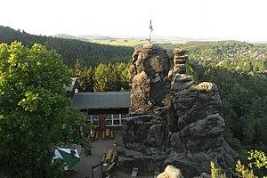 Klettersteig Zittauer Gebirge : Nonnenfelsen zittauer gebirge u wikipedia
