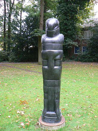 Hede Bühl - Large Standing Figure, 1971, Nordhorn