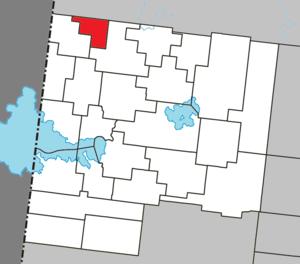 Normétal - Image: Normétal Quebec location diagram