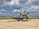 North American P-51 Mustang in Wisconsin Air Show.jpg