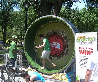 The North Face - Participating in an Eco-fair in New York
