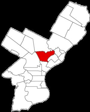 Northern Liberties Township, Pennsylvania - Image: Northern Liberties Twp 1854