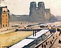 Notre-Dame, Floods Albert Marquet (1910).jpg