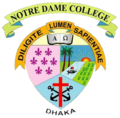 Notre dame college dhaka logo.png