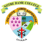 Notre dame college dhaka logo.png