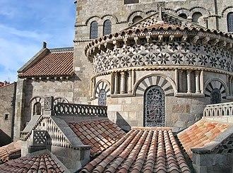 Clermont-Ferrand - Basilica of Notre-Dame du Port.