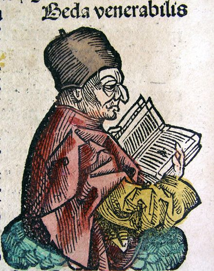 """The """"Venerable Bede"""" (sigh, all the great nicknames are already taken)"""