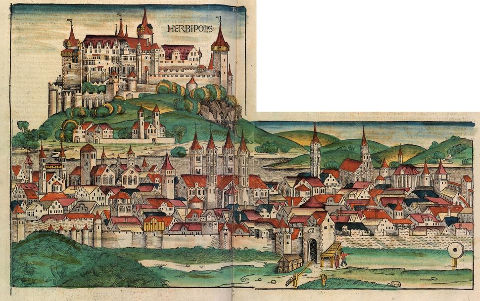 Nuremberg chronicles - HERBIPOLIS