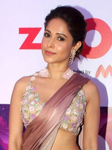 Nushrat Bharucha grace the Zoom Myntra association bash (02) (cropped).jpg