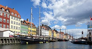 Nyhavn - The canal.