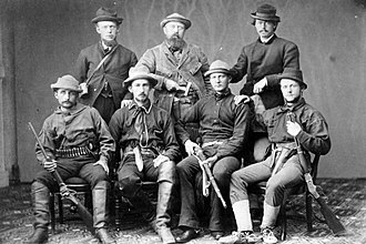 Othniel Charles Marsh - Othniel Marsh (center, back row) and assistants ready for digging