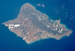 Oahu - Satellite photo of Oahu