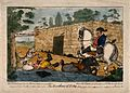 Obadiah, riding a coach horse, knocks Dr. Slop off his pony Wellcome V0016121.jpg