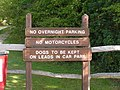 Obey the signs, Haysden Country Park - geograph.org.uk - 1051183.jpg