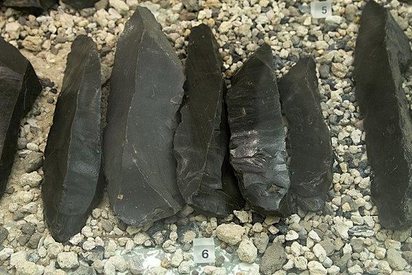 Obsidian från Grekland