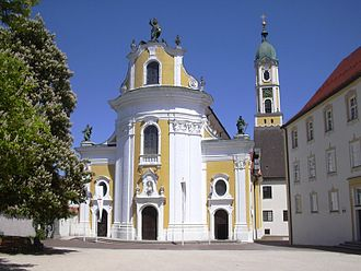 Ochsenhausen Abbey - Image: Ochsenhausen Kloster