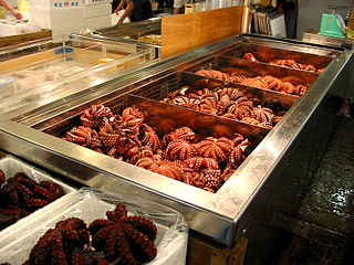 Octopus as food food ingredient