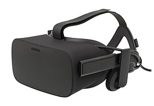 Palmer Luckey - The Oculus Rift CV1, the first commercial VR headset released by Oculus VR.