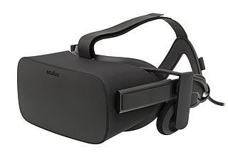 Oculus Rift Virtual reality head-mounted display