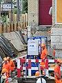 Oerlikon - 'Gleis 9' während der Gebäudeverschiebung 2012-05-22 13-28-10 (P7000).JPG