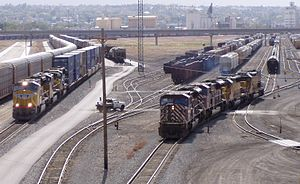 Union Pacific Railroad - Ogden, Utah yard