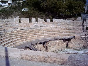 Architecture of the Republic of Macedonia - Antique Theatre in Ohrid