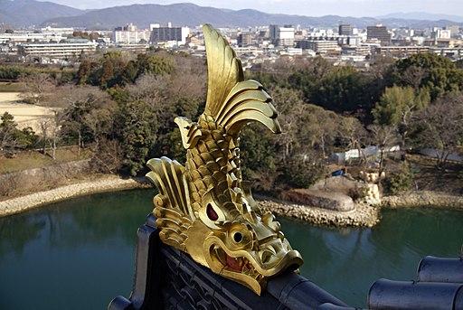 Okayama castle14n3200