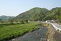 Okishio Castle and Yumesaki River.jpg