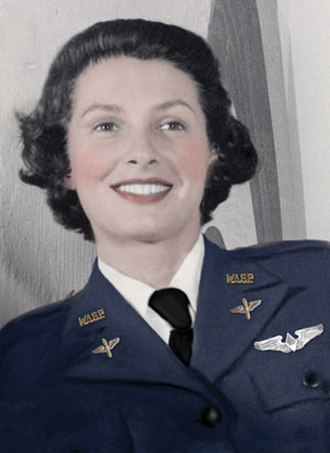Oglala - Ola Mildred Rexroat, the only Native American pilot in the Women Airforce Service Pilots (WASP)