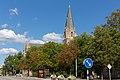 Olaus Petri kyrka seen from Storgatan, Örebro.jpg