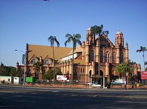 Bowen Hills, Queensland - The Old Museum, former home of the Queensland Museum and later, home of many community groups including the Queensland Youth Orchestras