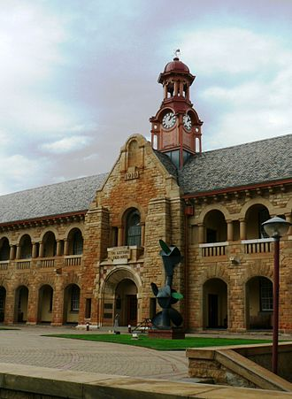City of Tshwane Metropolitan Municipality - University of Pretoria's Old Arts Building