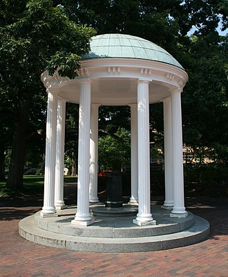 Orange County, North Carolina - The Old Well, UNC's most recognized landmark