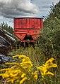 Old peat trailer in Seda peat bog.jpg