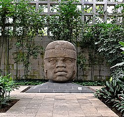 Olmec Head No. 1 at Xalapa, Veracruz, Mexico.jpg