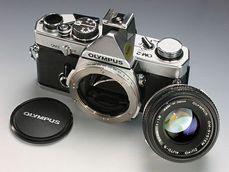 Olympus OM-2 - Image: Olympus OM 2 with Zuiko 50mm f 1.8