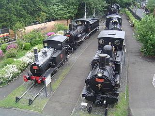 Ome Railway Park Railway museum in Ōme, Tokyo, Japan