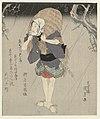 Onoe Kikugorô III als Gonpachi met een strooien regenjas-Rijksmuseum RP-P-1958-598.jpeg